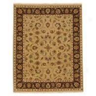 Britania Sand & Mushroom Hahd Knotted Wool Rug