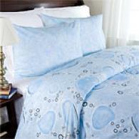 Bubbles Cotton Duvet & Sham Set