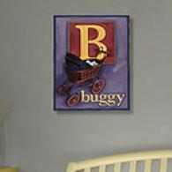 Buggy 11in X 14in Canvas Print