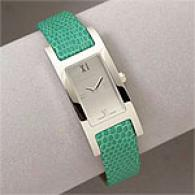 Burberry Heritage Collection Gun Green Strap Watch