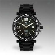 Burett Neo Icon Mens Black Stainless Steel Watch