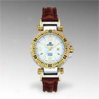 Burett Womens Leather Neo Icon Automatic Watch