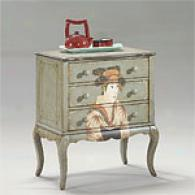 Butler Hand Painted Oriental Chest