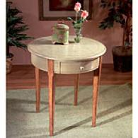 Butler Hand Painted Round End Table