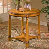 Butler Olive Ash Burl Foyer Table