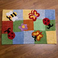 Butterflies Kid's Rug