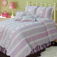 Butterfly & Seat of life 100% Cotton Reversible Quilt