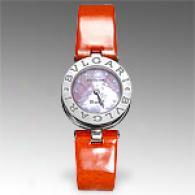 Bvlgari Womens Bzero 1 Orange Watch