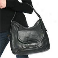 Calvin Klein Glazed Leathe rHobo Bag