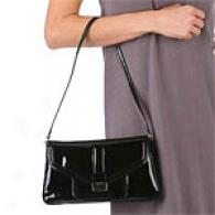 Calvin Klein Patent Leather Embrace Bag