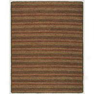Canyon Stripe Hand Woven Jute Rug