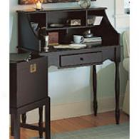 Cape Craftsman Black Wood Secretary Desk