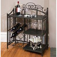 Cape Craftsmen Black Iron Wine Bar