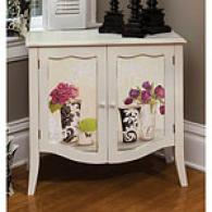 Cape Craftsmen Jardin Botanique Two Door Cabinet