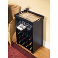 Cape Craftsmen Small Wine Bar With Removable Tray