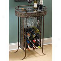 Cape Craftsmen Vinyard Filigree Wine Table