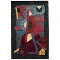 Capel Andes Multicolor Hand-tufted Wool Rug