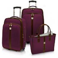 Caribbean Joe Key West 3pc Luggage Collection