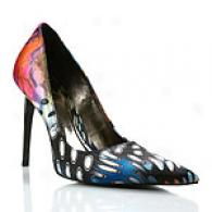Carlos Santana Exude Melancholy High Incline Fabric Pump