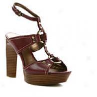 Caflos Sanfana Lola Platform T Strap Sandal