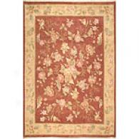 Chantilly Collection Rust Rug