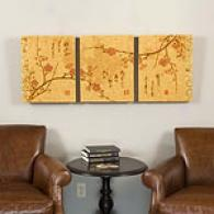 Cherry Blossom Screen Outdoor Canvas Prints