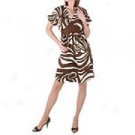 Chetta B.. Silk Twill Dress