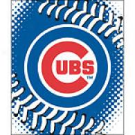 Chicago Cubs 60in X 80in Baseball Throw