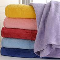 Childrens Brushed Cotton Blend Blanket