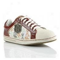 Christian Audigier Crowns Leather Shoes