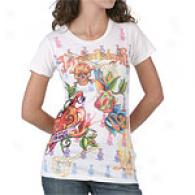 Inhabitant of Christendom Audigier Locket Short Sleeve Tee
