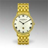 Christian Bernard Slimlight Gold Ppated Watch