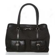 Christian Dior My Dior Black Logo Extensive Tote