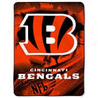 Cincinnati Bengals 60in X 80in Throw
