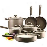 Circulon Classic 12pc Cookware Set W/ Bonus Pan