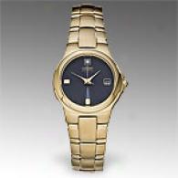 Citizen Eco Drive Womens Gold Tone Diamond Watch