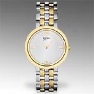 Citizen Elegance Two-tone Spotless Steel Watch