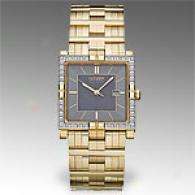 Citizen Elektra Men's Gold-tone Diamond Watch