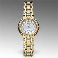 Citizen J Class Womens Gold Tone Diamond Watch
