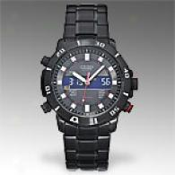 Citozen Mens Perpetual Calendar Black Watch