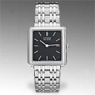 Citizen Stiletto Stainless Steel Black Dial Watch