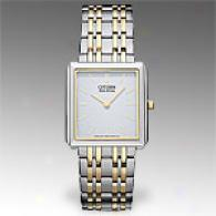 Citizen Stiletto Two-tone Stailess Steel Watch