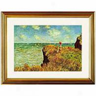 Claude Monet's Etretat Framed Prnt