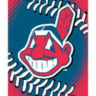 Cleveland Indians 60in X 80in Baseball Throw