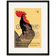 Cocorico Framed Print By Steinlen