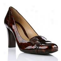 Cole Haan Helena Tortoise Patent High Pumps
