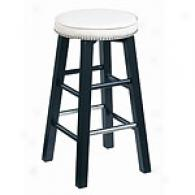 Coleman Cream Nail Head Swivel Bar Stool