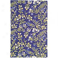 Colorfields Lavenedr Fields Floral Rug