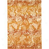 Company C Bali Ombre Apdicot Hand Tufted Wool Rug
