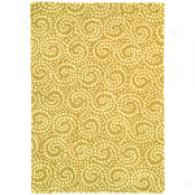 Company C Carnably Swirl Hand Tufted Wool Rug